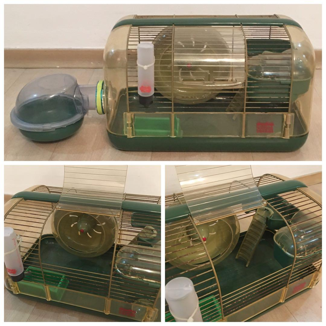 Habitrail Safari Hamster Cage and New Outpost