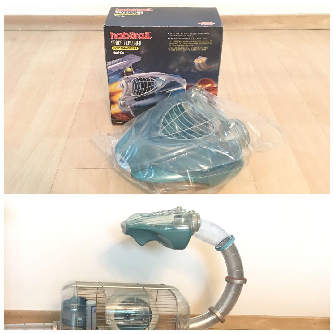 Habitrail Space Explorer For Hamsters (Include 4 Curve Tubes)