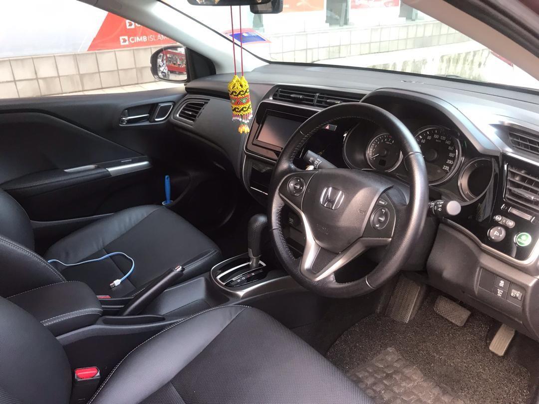 HONDA CITY V 1.5 L I-VTEC  2018yrs SAMBUNG BAYAR BOSKUUUU