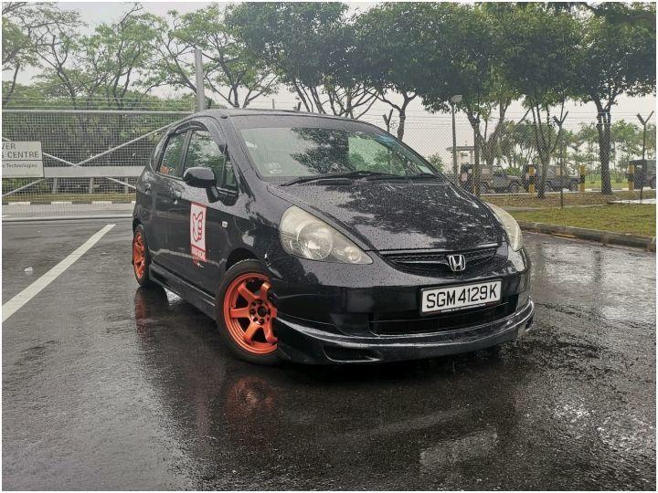 HONDA FIT BODY KIT FITTED 1.3A