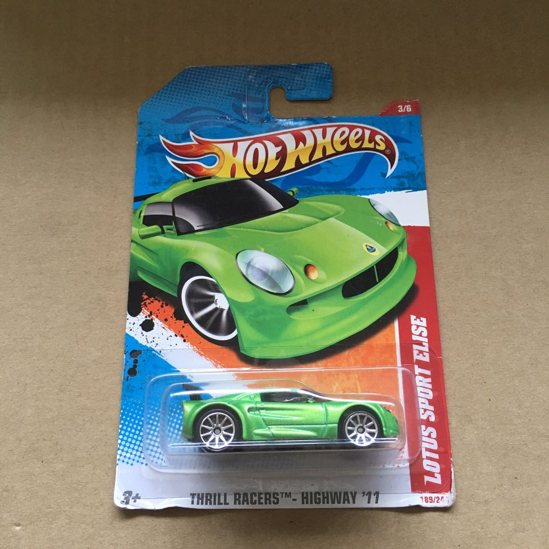 Loose Green Exclusive 1:64 Hot Wheels Midnight Otto Car