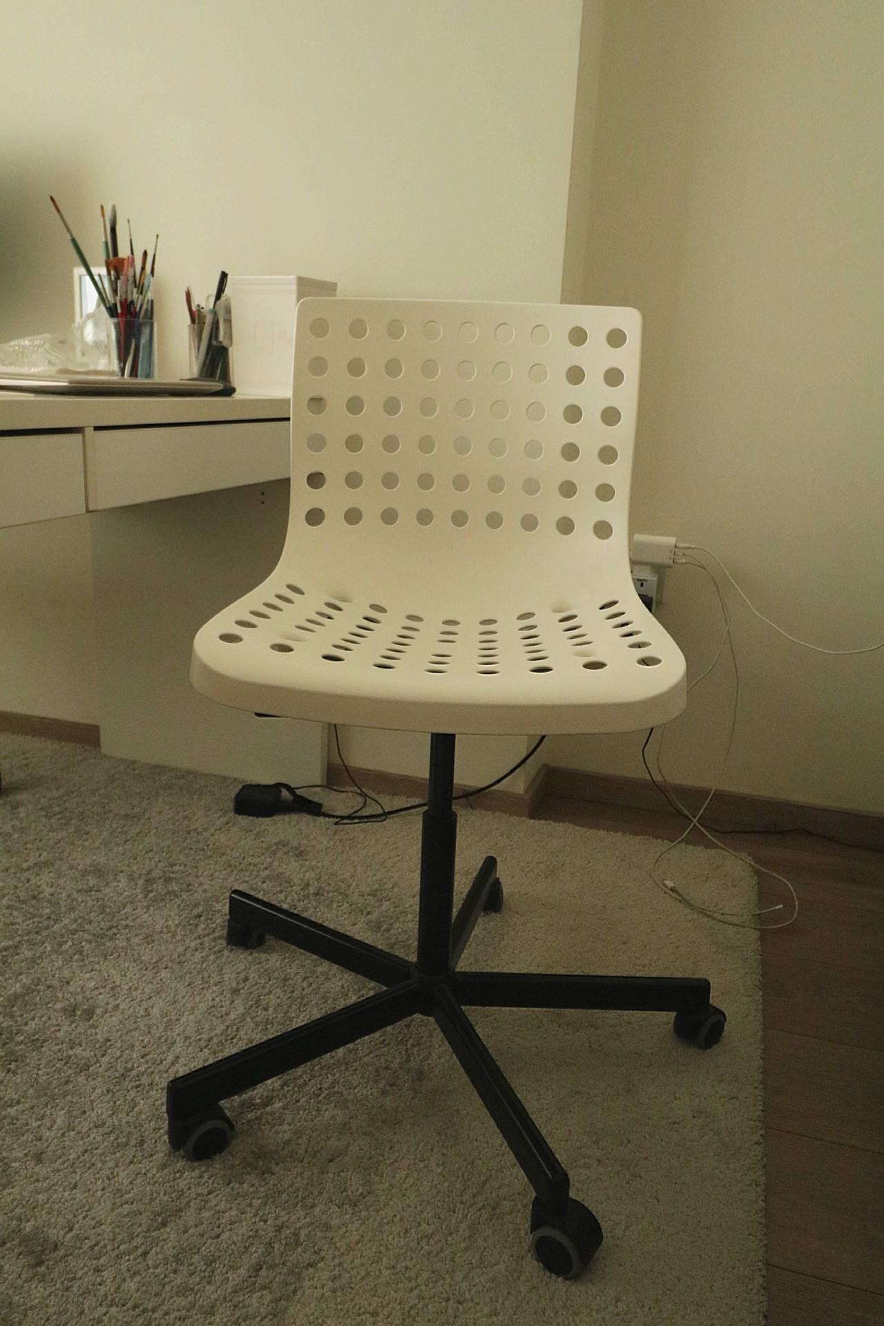 Terrific Practical Economical Ikea Skalberg Sporren Office Chair On Bralicious Painted Fabric Chair Ideas Braliciousco