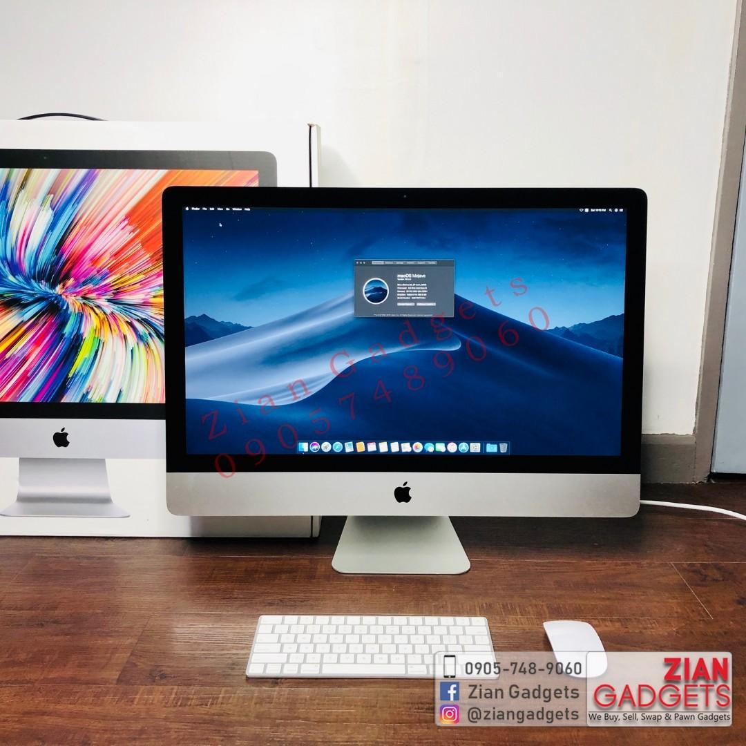 iMac 27 inch Quad i5 3 8ghz 8GB DDR4 2TB Fusion 8GB Radeon