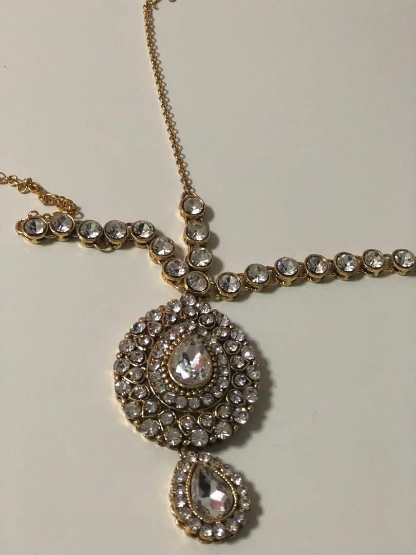 Indian Tikka Headpiece On Carousell