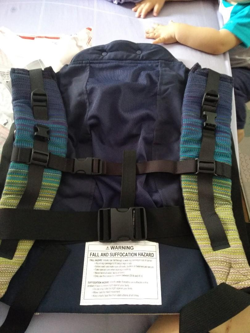 Kinderpack wrap conversion toddler carrier(Oh she glows)