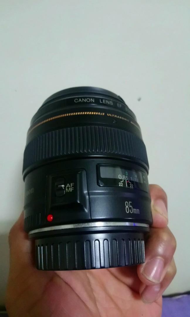 Lensa Canon 85mm 1,8