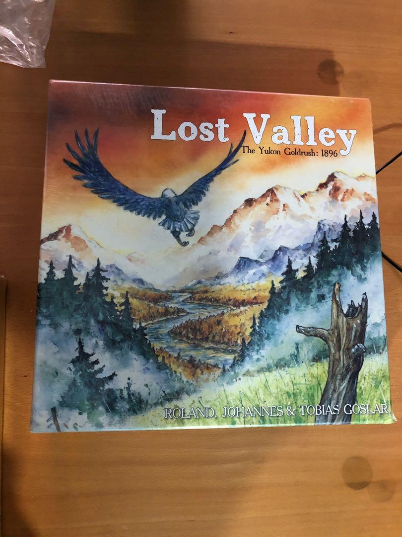 Lost Valley Board Game