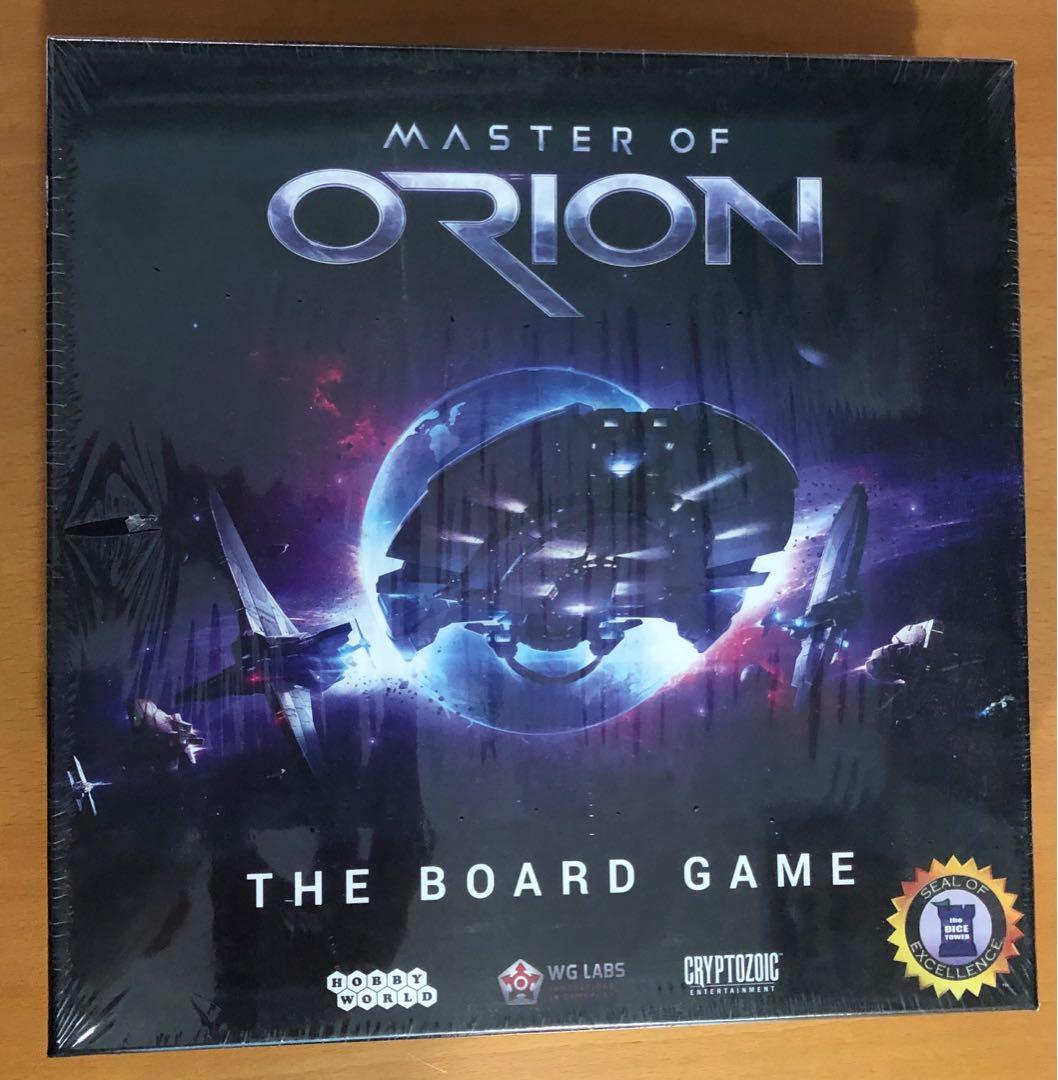 Master of Orion Card Game