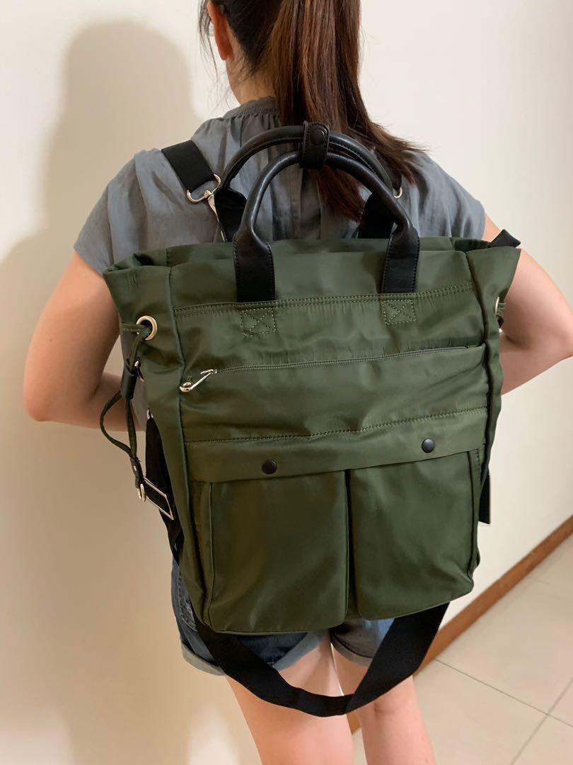 Mizzue Backpack/Handbag/Sling bag
