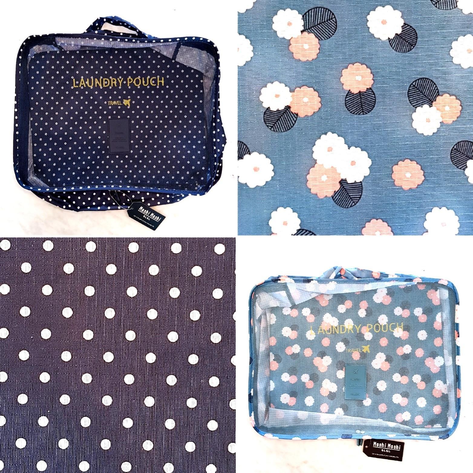 MOSHI MOSHI 6-Piece Travel Organiser Packing Set  (BNWT)
