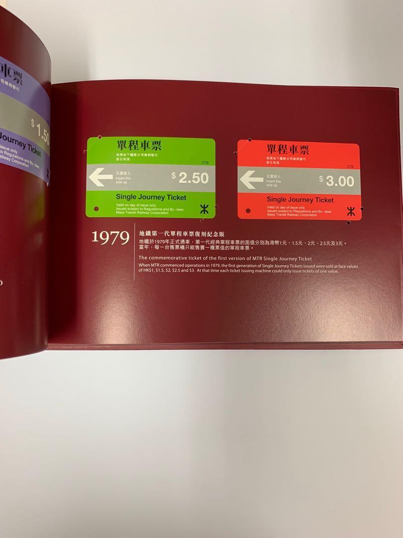 MTR 地鐵 絕版車票