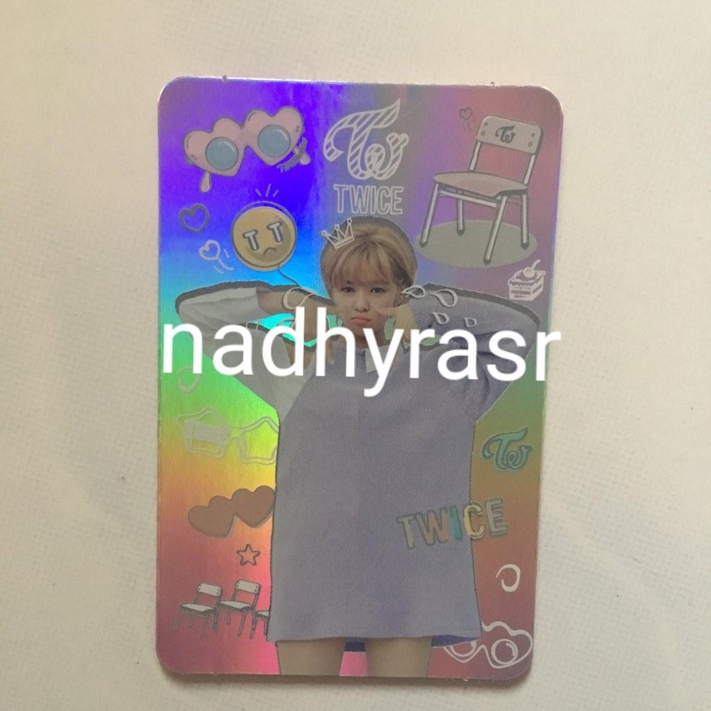 Official Twice - Jungyeon's Twicecoaster Hologram Photocard #Twice #Jungyeon #kpop #photocard #kpoppc #twicephotocard #jungyeonphotocard