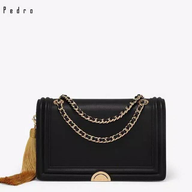 Pedro Tas Selempang Crossbody Handbag Shoulder Bag Import Wanita