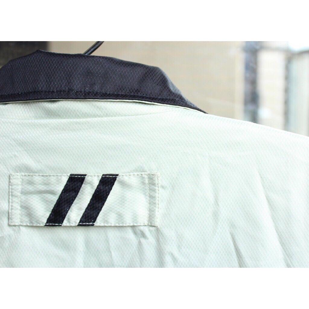 polo經典外套✔打高爾夫的男子×在球場上的時尚×清香蘋果綠顏色