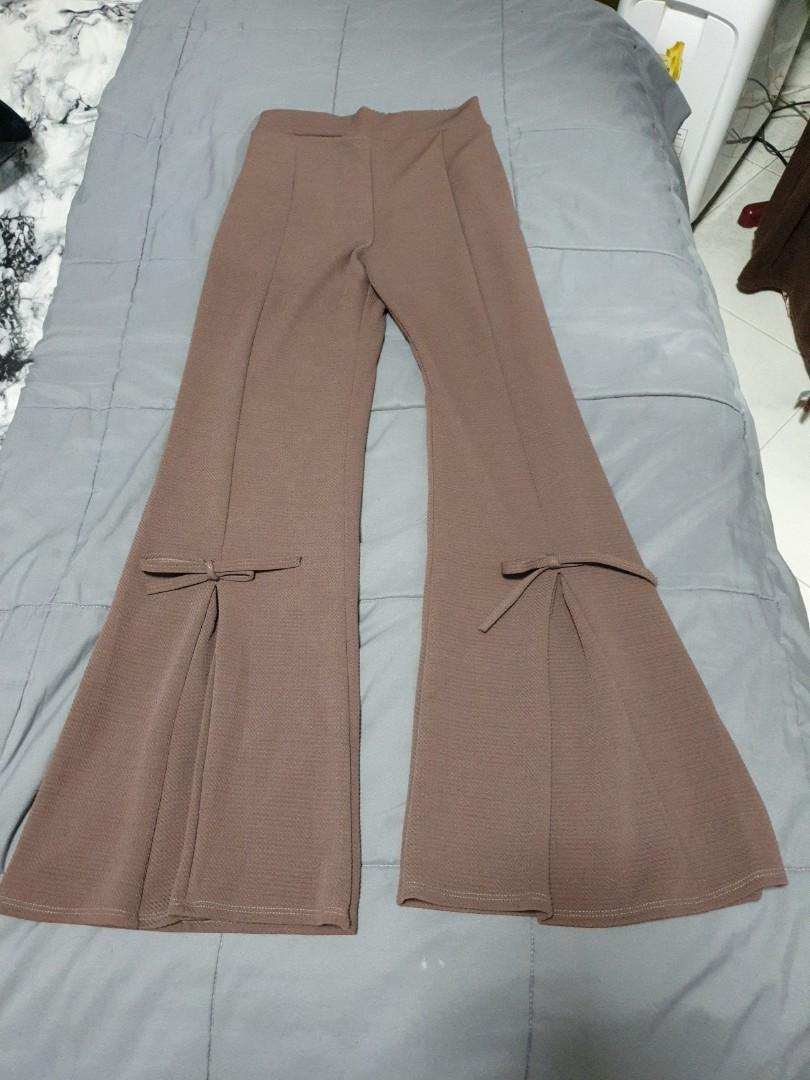 Ribbons bell bottoms