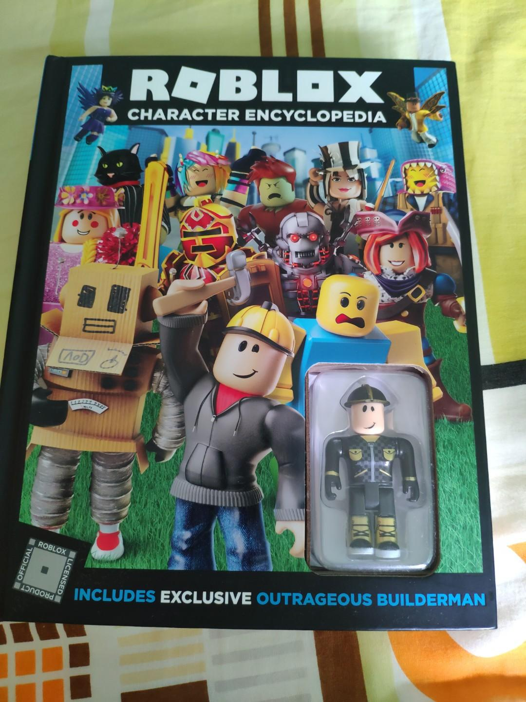 Roblox Character Encyclopedia Books Stationery Children S
