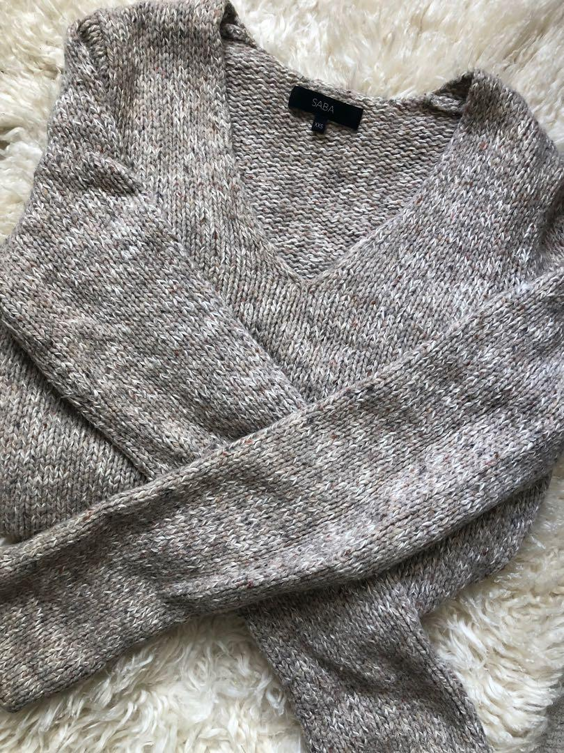SABA 100% Wool Jumper