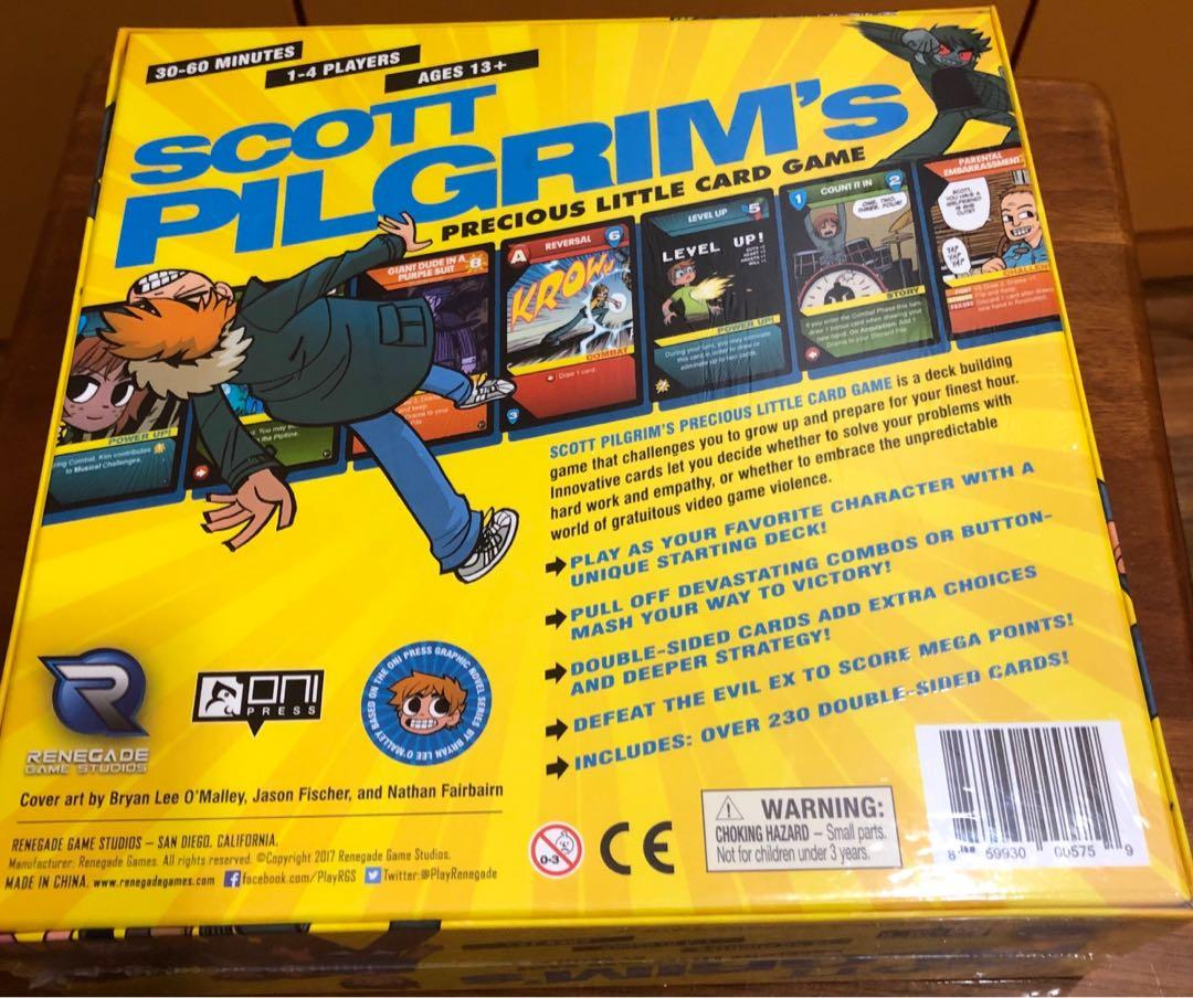 Scott Pilgrim Deck Building Card Game