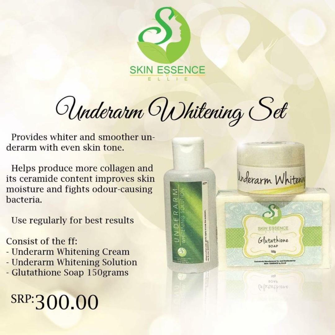 Skin Essence by Ellie-Underarm Whitening Set on Carousell