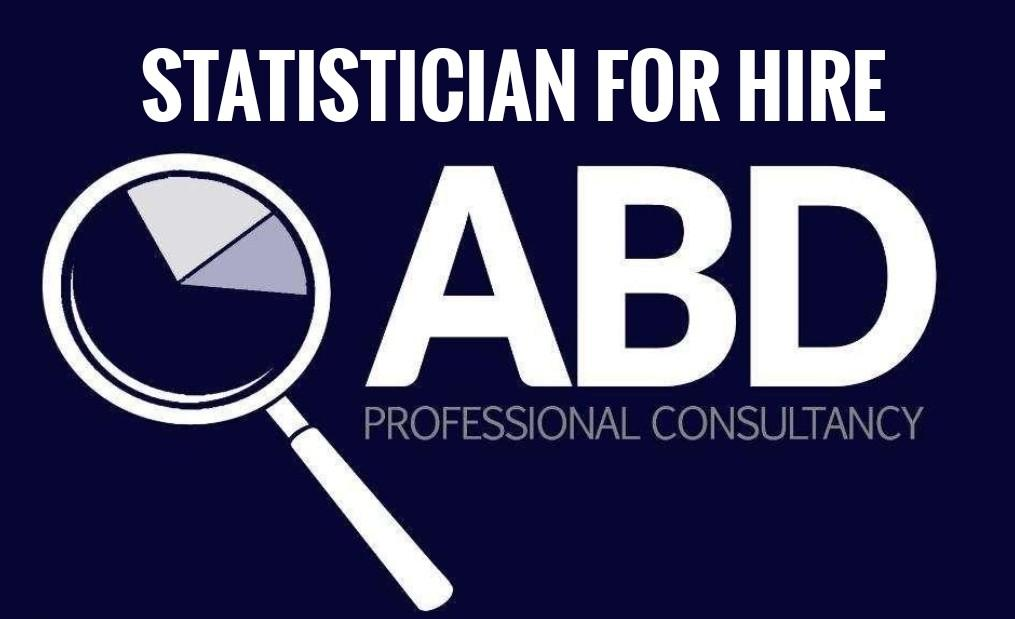 Statistician and Thesis Consultant