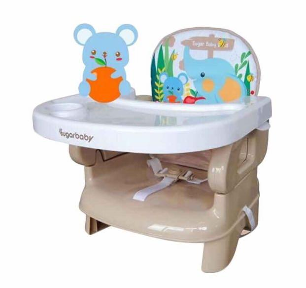 Sugar Baby Sit on Me Folded Booster Seat Kursi Makan Bayi - Brown Sugar