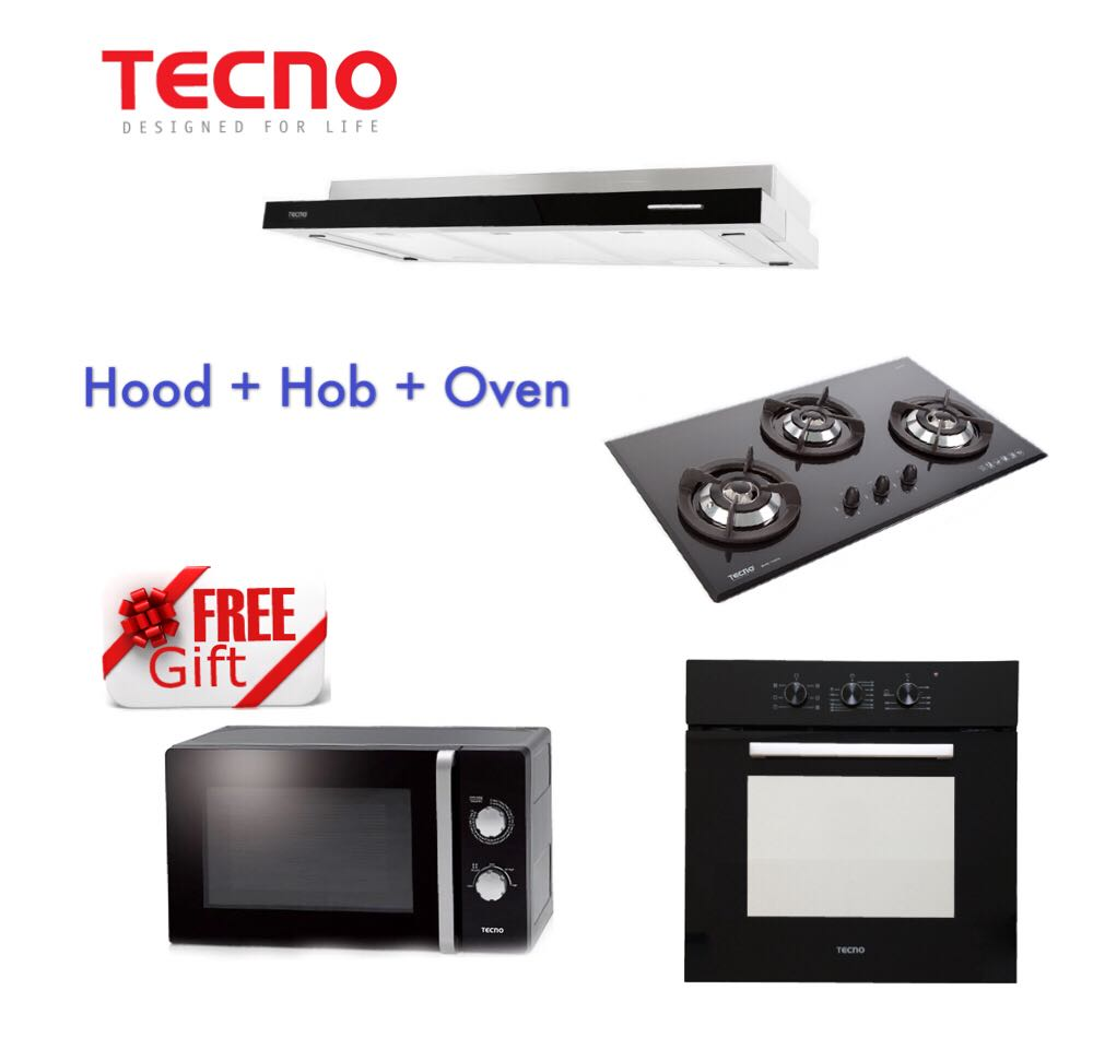 Tecno Hood + Hob + Oven Package Special Offer, Home