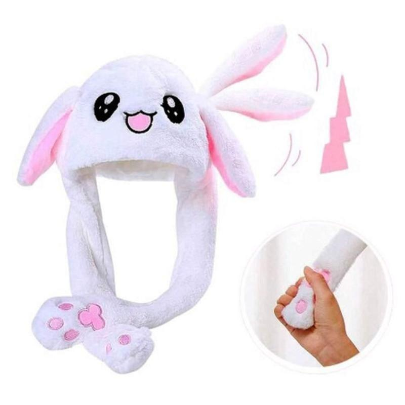 Tiktok Cute Balloon Bunny Hat Funny Playtoy Ear Up Down Light Magic Movable