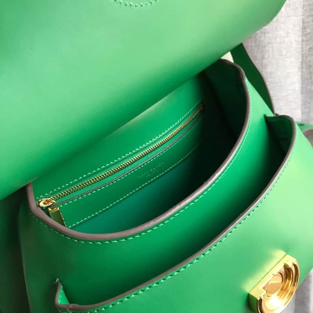 Tory Burch James Saddle Bag Green
