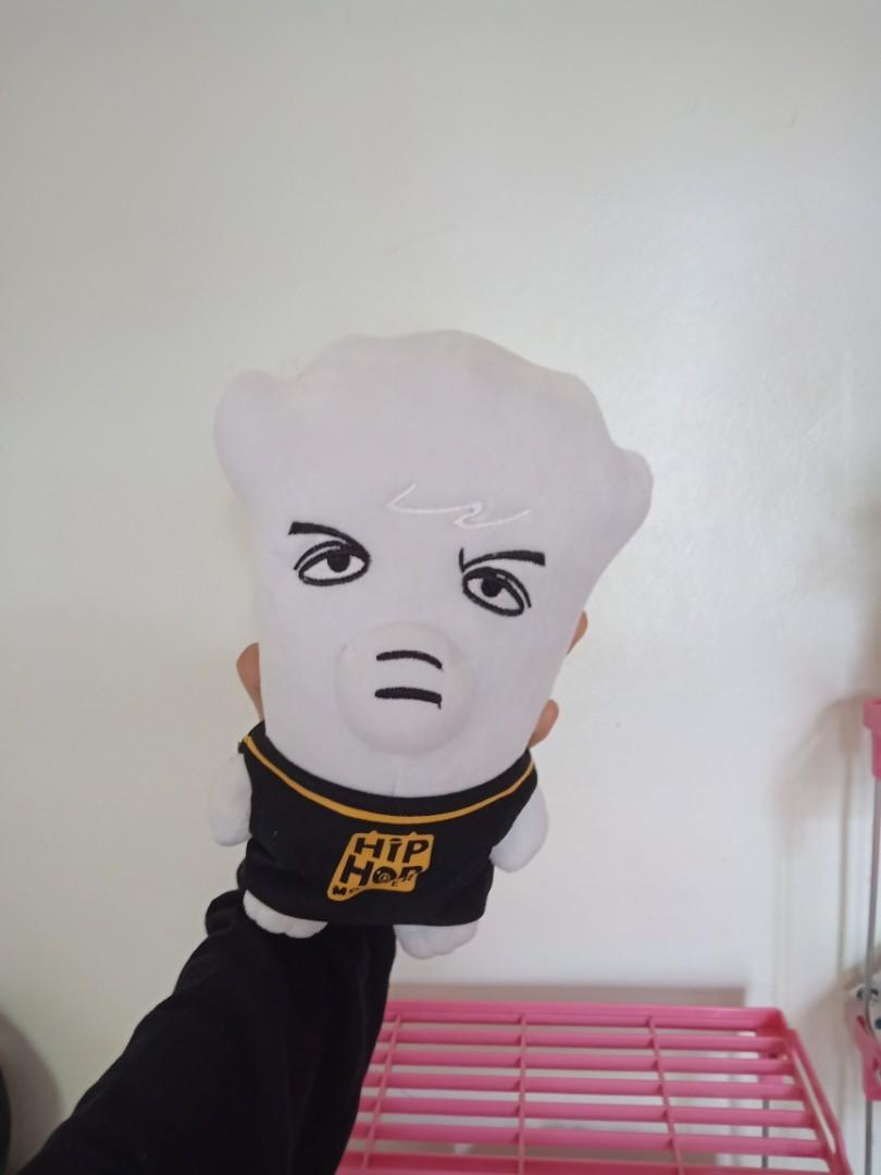 UNOFFICIAL HipHop Monster Plushie (Jhope / Jung Hoseok )