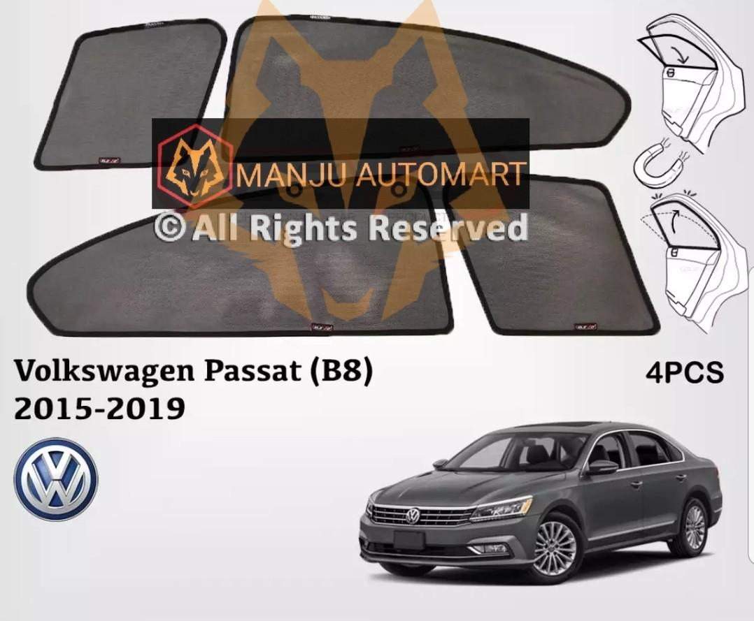 Volkswagen Passat B8 2015 to 2018 Magnetic Custom Fit Sunshade 4pcs