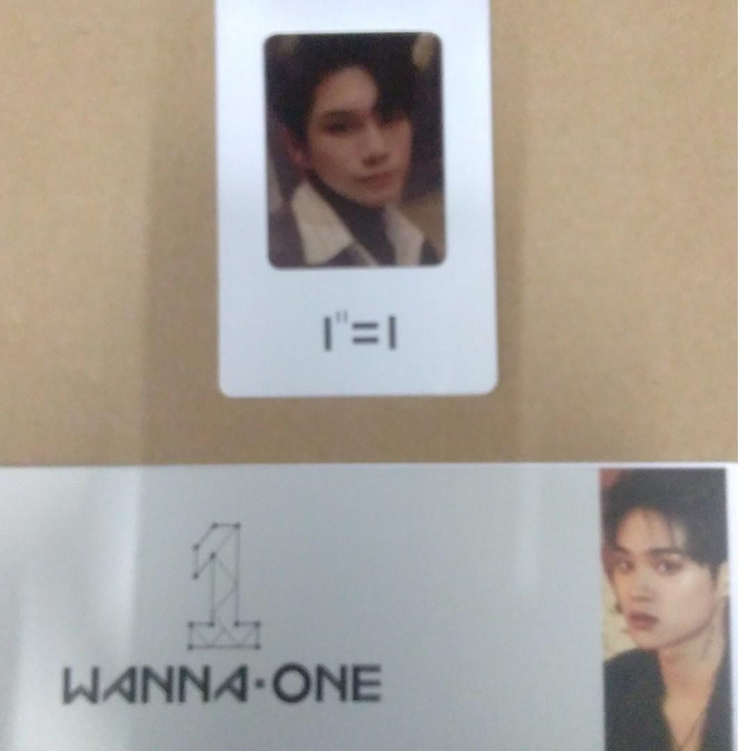 WTS WANNA ONE ONG SEUNG WU AND DAEHWI PHOTOCARD AND SLEEVE