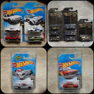 Hot Wheels - Nissan Skyline | 50th Black Gold | Batmobile | Datsun