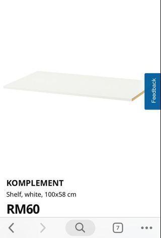 IKEA KOMPLEMENT SHELF