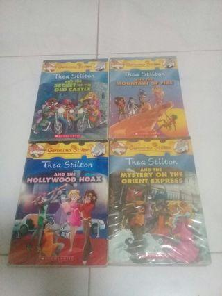 Thea Stilton Story Books (Used)