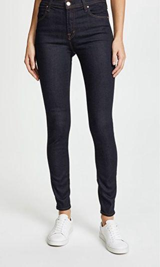 J Brand Maria After Dark High-waisted Skinny Jeans