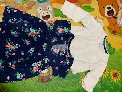 Authentic carter dress and cardigan for 9months old (worn once)