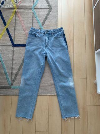 Boyfriend jeans with side details - Size 27/4