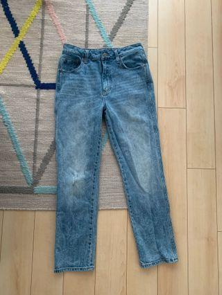 Boyfriend Jeans - Size 27 / 4 from Lucky Brand