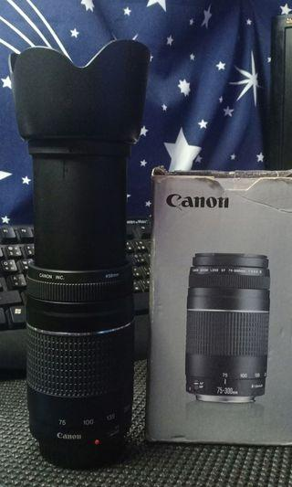 CANON ZOOM LENS EF 75-300mm f/4-5.6 lll