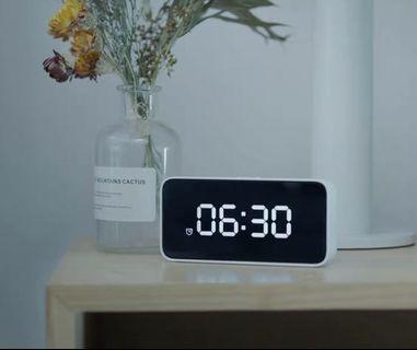 小米小愛同學鬧鐘 藍芽音樂鬧鐘 智能鬧鐘 附插頭