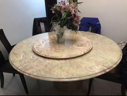 大理石圓桌(直徑150公分)