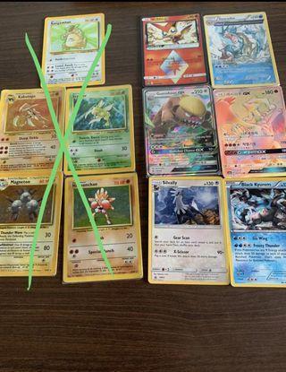 Pokemon base set cards!!