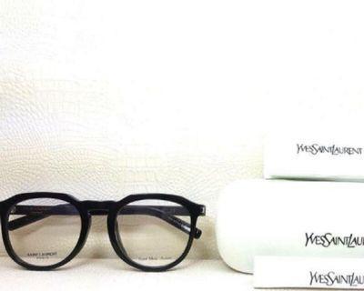 YSL聖羅蘭經典黑框眼鏡
