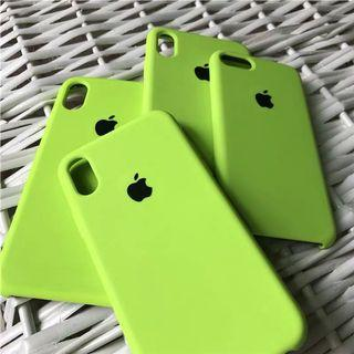 PO ulzzang neon green iphone cover
