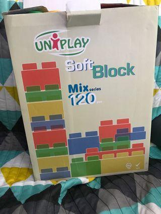Uniplay mix120 軟積木