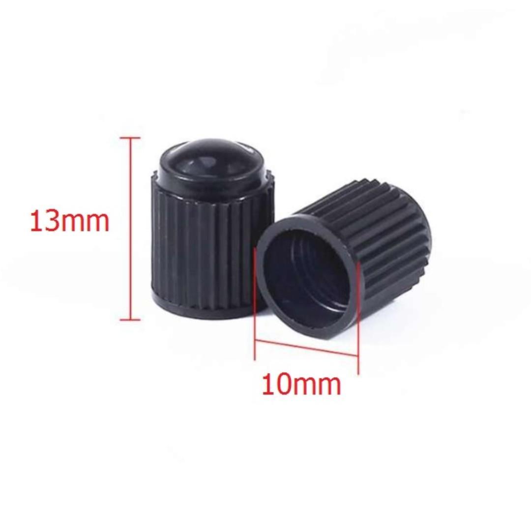 GREAT DEAL!! 10 Pcs/1 Lot Black Plastic Tyre Tire Wheel Valve Caps
