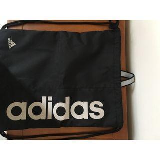 全新正品愛迪達Adidas帆布後背包