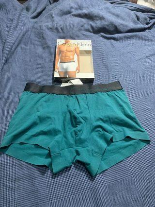《jhao_chen下標專用》CK深綠Trunk貼身男四角內褲