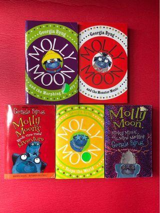 Molly Moon Book Series
