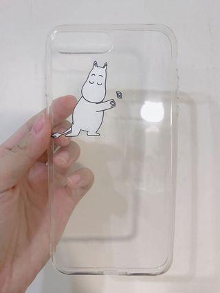 i8嚕嚕米手機殼(附海綿及夾鏈袋